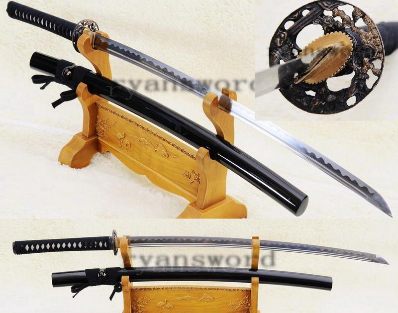 Handmade Carbon Steel Japanese Samurai Iaito Katana Sword