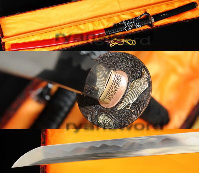 Hand Forged 1095 High Carbon Steel Japanese Samurai Katana Sword