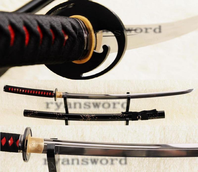 High Quality Maru 1095 Carbon Steel Japanese Samurai Katana Sword